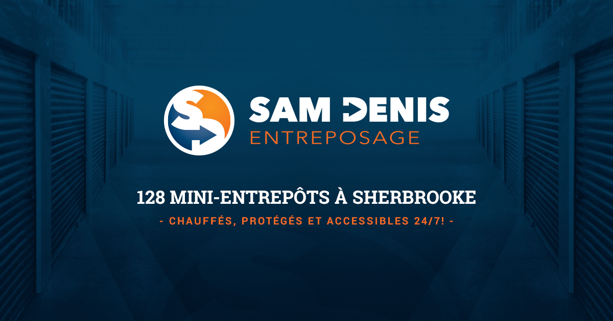 Entreposage sherbrooke sam denis mini entrep ts for Entreposage meuble quebec